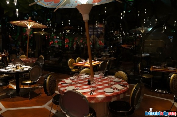 Ratatouille: The Adventure Fan Event. Bistrot Chez Rémy Inside