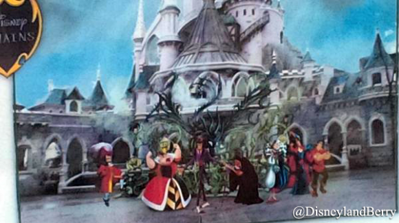 Disneyland Paris News: Halloween 2014 Maleficent's Court