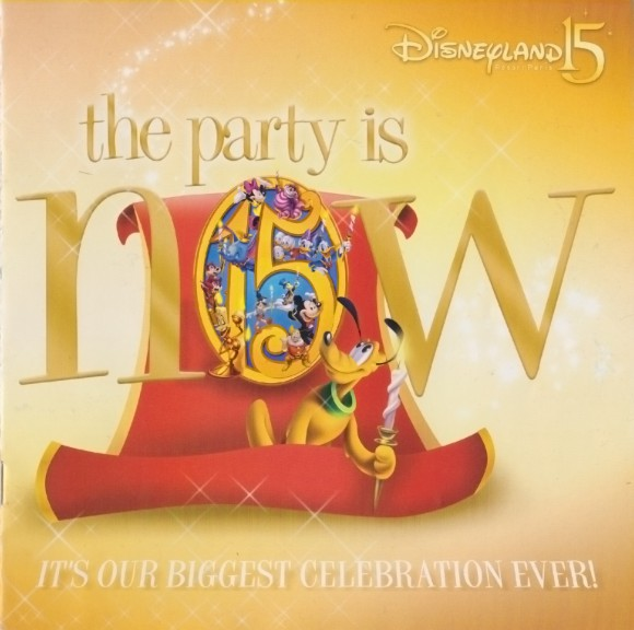 Disneyland Paris Magical Memorabilia: 15th Anniversary Booklet  Front Cover