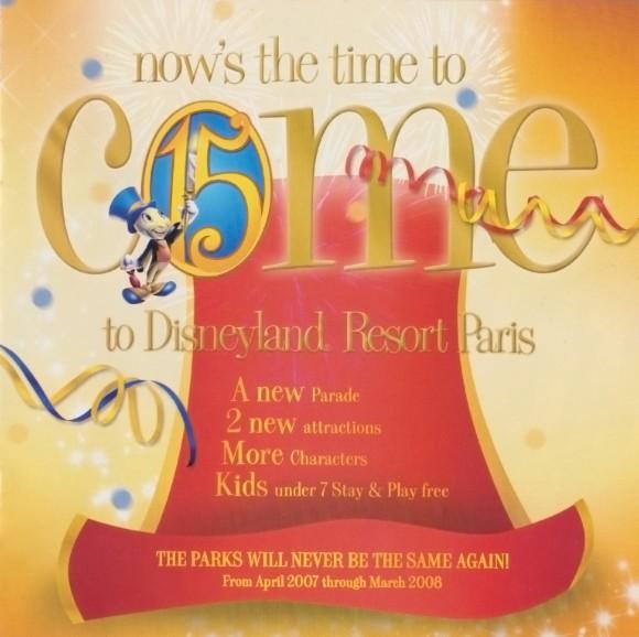 Disneyland Paris Magical Memorabilia: 15th Anniversary Booklet  Page 3