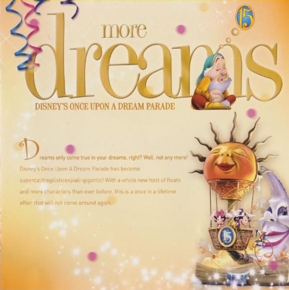 Disneyland Paris Magical Memorabilia: 15th Anniversary Booklet  Page 5