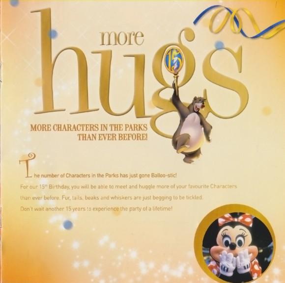 Disneyland Paris Magical Memorabilia: 15th Anniversary Booklet  Page 9