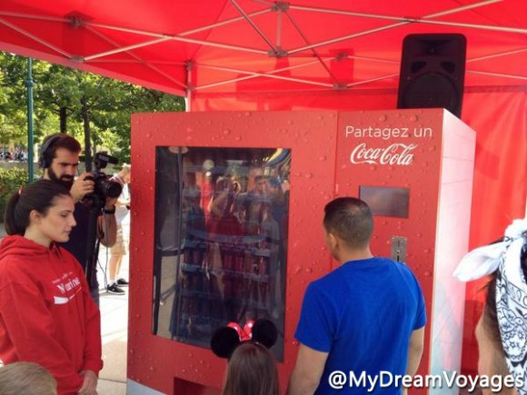 Disneyland Paris News: Coke Bottle With Your Name On In Disney Village