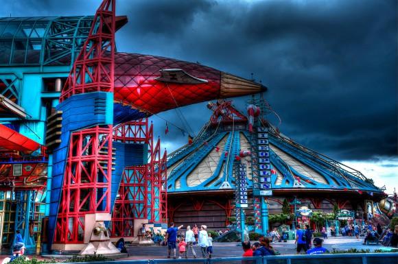 Disneyland Paris Photo Friday: Disneyland Park in Magical HDR. Discoveryland