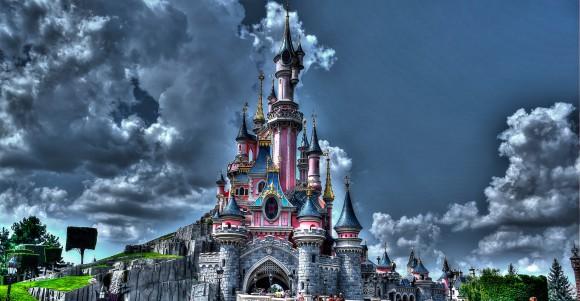 Disneyland Paris Photo Friday: Disneyland Park in Magical HDR. Sleeping Beauty Castle