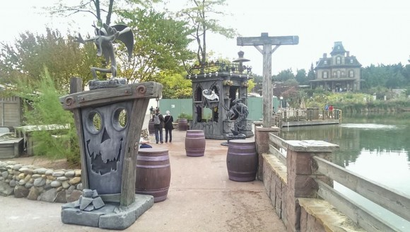 Disneyland Paris Halloween Jack and sally Photo Location