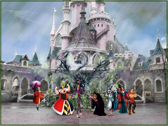Disneyland Paris Halloween 2014 Concept Art