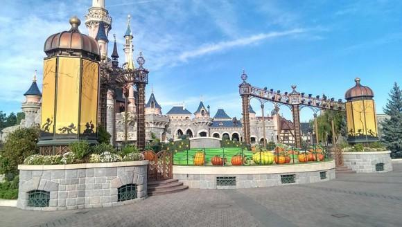 Disneyland Paris Photo Friday: Halloween 2014 Castle Stage