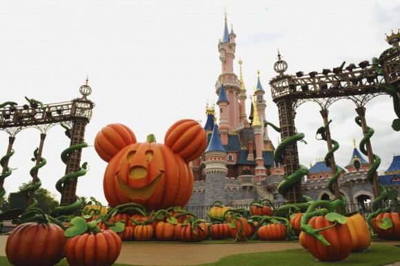 Disneyland Paris Halloween 2013: Pumpkin Mickey