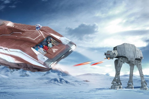 Disneyland Paris Rumour: Star Tours II To Open in 2017