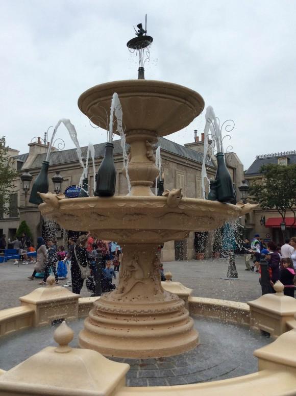 La Place de Remy in Disneyland Paris