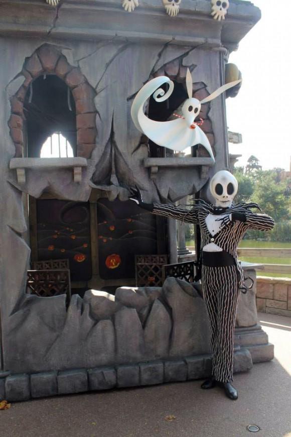 Jack Skellington Photo Location in Disneyland Paris