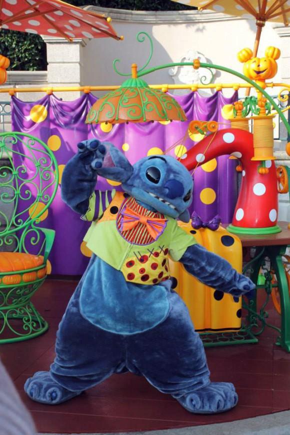 Stitch Halloween Meet & Greet in Disneyland Paris
