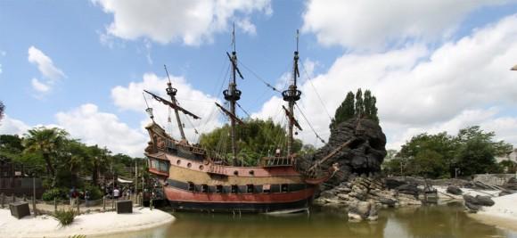Adventureland in Disneyland Paris