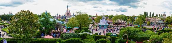 Fantasyland in Disneyland Paris