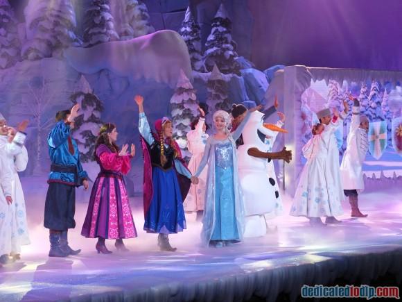 Disneyland Paris Frozen Summer Fun Review: Frozen Sing-along Show