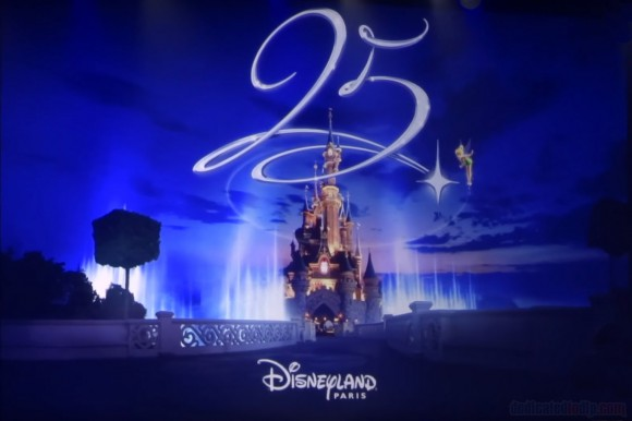 Disneyland Paris 25th Anniversary Logo