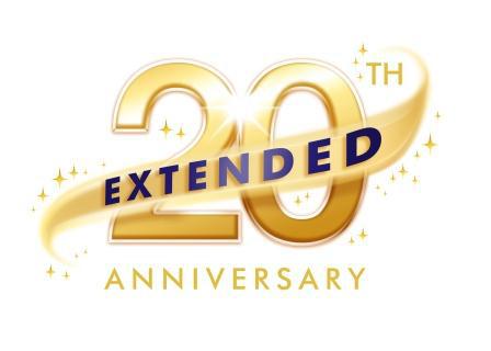 Disneyland Paris 20th Anniversary Extended Logo