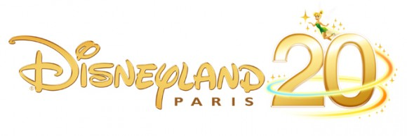 Disneyland Paris 20th Anniversary Logo