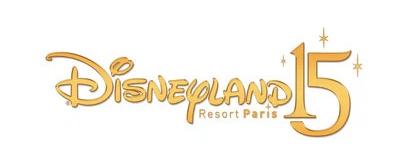 Disneyland Paris 15th Anniversary Logo