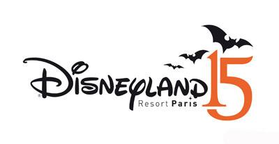 Disneyland Paris 15th Anniversary Halloween Logo