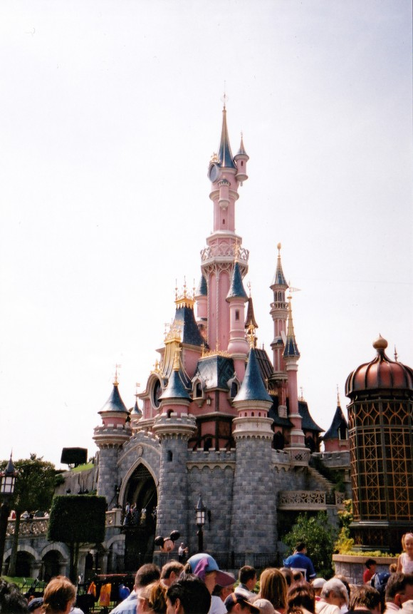My First Photo of Sleeping Beauty Castle in Disneyland Paris