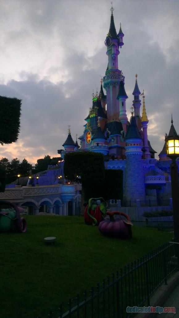 Disneyland Paris Diary: Halloween 2015 – Day 4 - Sleeping Beauty Castle