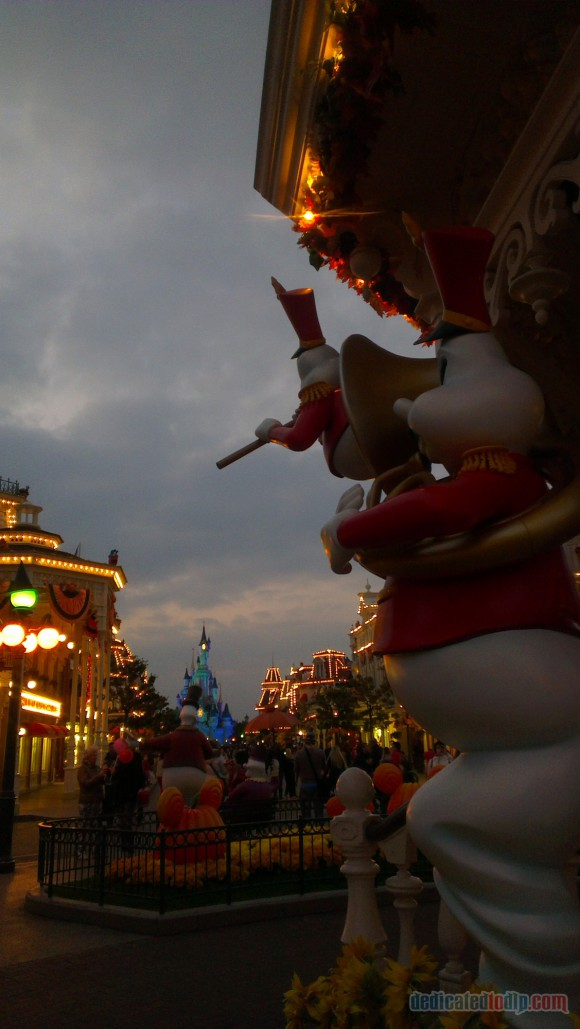Disneyland Paris Diary: Halloween 2015 – Day 4 - Main Street, U.S.A.