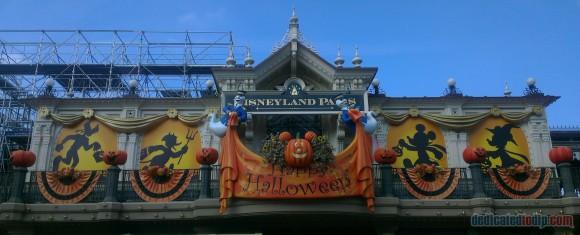 Disneyland Paris Diary: Halloween 2015 - Day 1 - Main Street Station