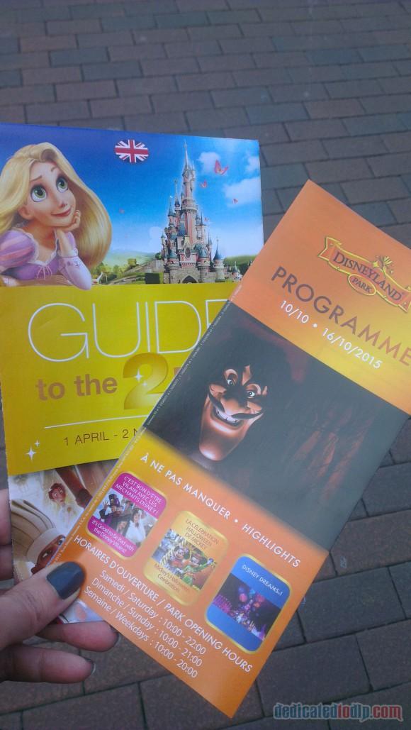 Disneyland Paris Diary: Halloween 2015 - Day 1 - Halloween Programme