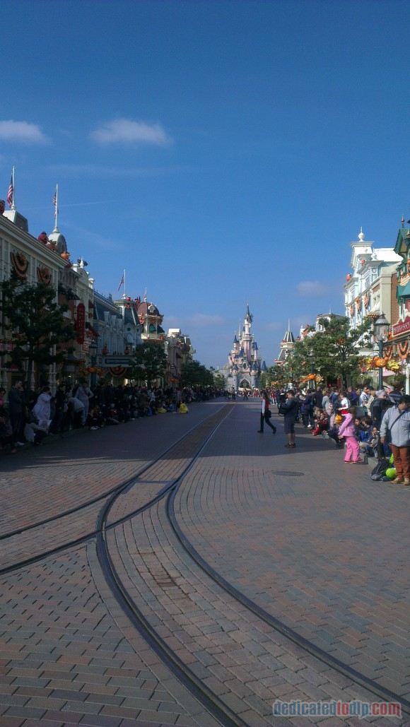 Disneyland Paris Diary: Halloween 2015 - Day 1 - Main Street, U.S.A.