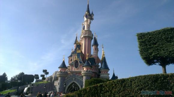Disneyland Paris Diary: Halloween 2015 - Day 1 - Sleeping Beauty Castle