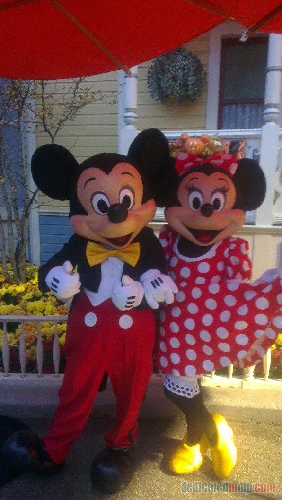 Disneyland Paris Diary: Halloween 2015 – Day 5 - Mickey & Minnie Mouse