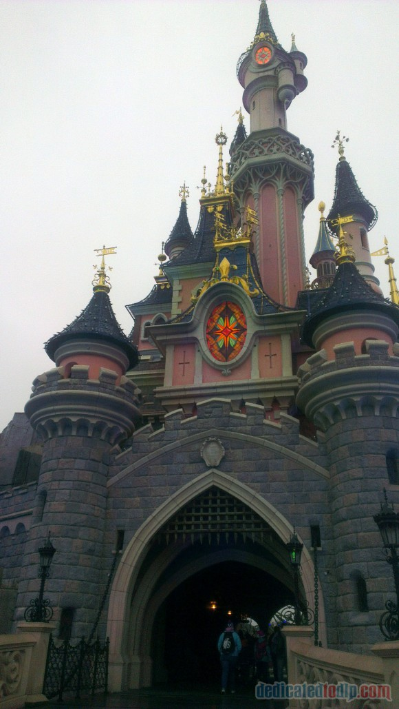 Disneyland Paris Diary: Halloween 2015 – Day 5 - Sleeping Beauty Castle