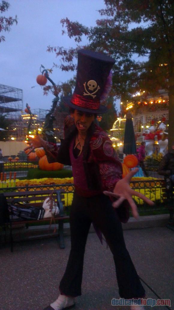 Disneyland Paris Diary: Halloween 2015 – Day 5 - Dr. Facilier