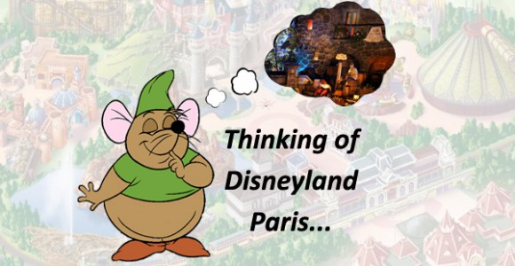 What is the one thing takes your mind straight back to Disneyland Paris?