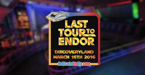 Star Tours Last Tour to Endor Disneyland Paris