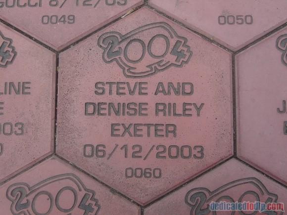 Our stone in Disneyland Paris