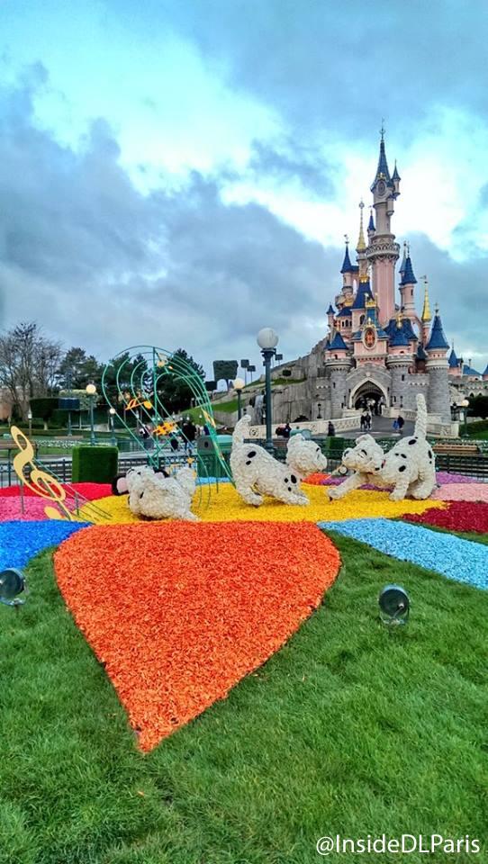 Spring Topiaries in Disneyland Paris