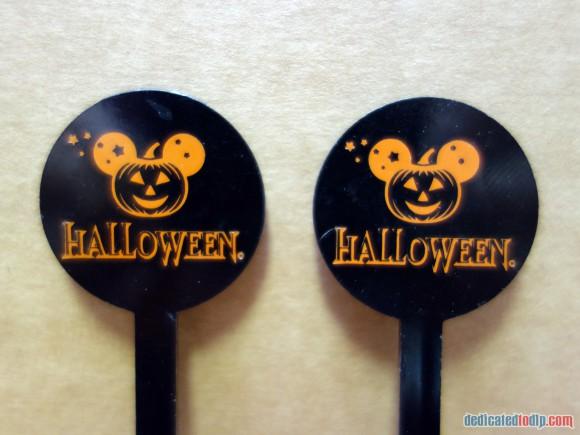 Disneyland Paris Magical Memorabilia: Halloween Cocktail Stirrers