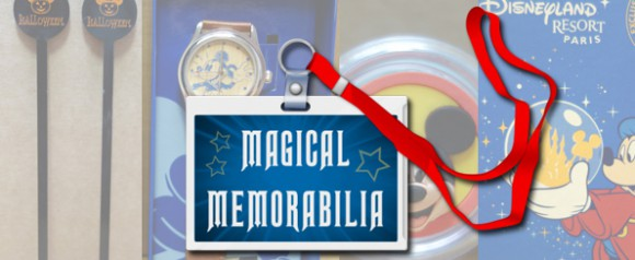 Disneyland Paris Magical Memorabilia: Cards, Watches, Lip Balm & Cocktail Stirrers