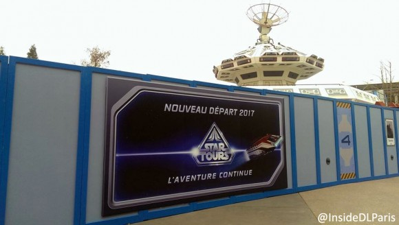 Disneyland Paris in 2017 - Star Tours: The Adventures Continu