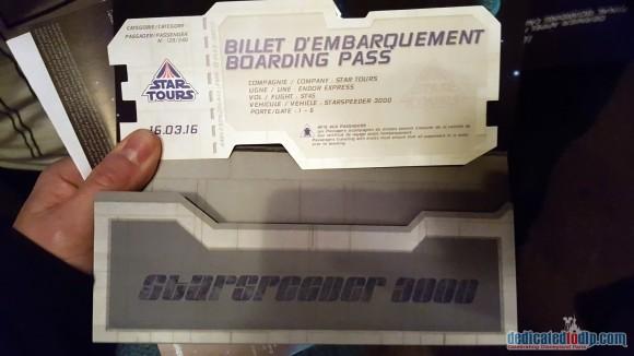 Final Boarding Call For Endor Express Boarding card