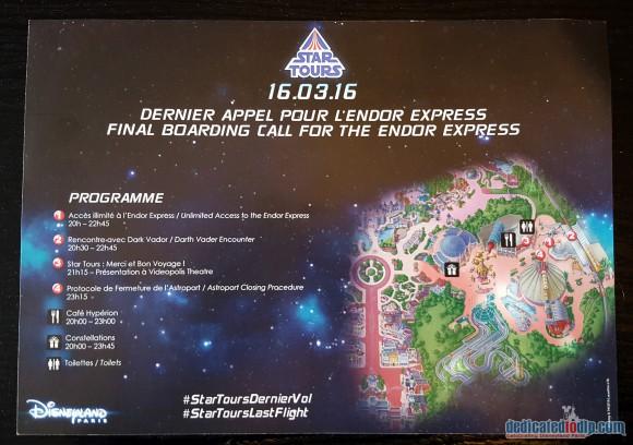 Final Boarding Call For Endor Express Programme