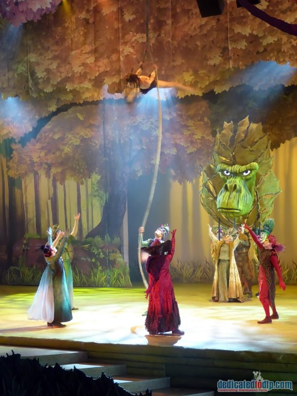 The Forest of Enchantment in Disneyland Paris
