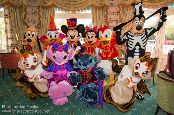 Halloween Brunch in Disneyland Paris