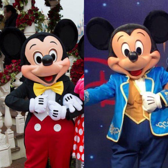 Mickey Mouse Comparison