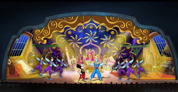 Mickey and the Magician Disneyland Paris Concept Art