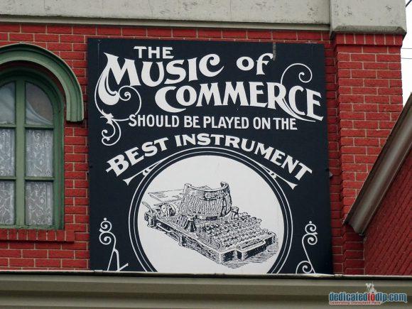 Disneyland Paris Photo Friday: The Signs & Adverts of Main Street, U.S.A.