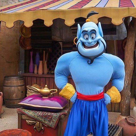 Genie in Disneyland Paris